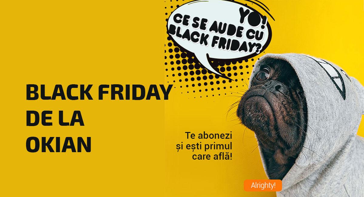 Oferta carti de Black Friday de la Okian
