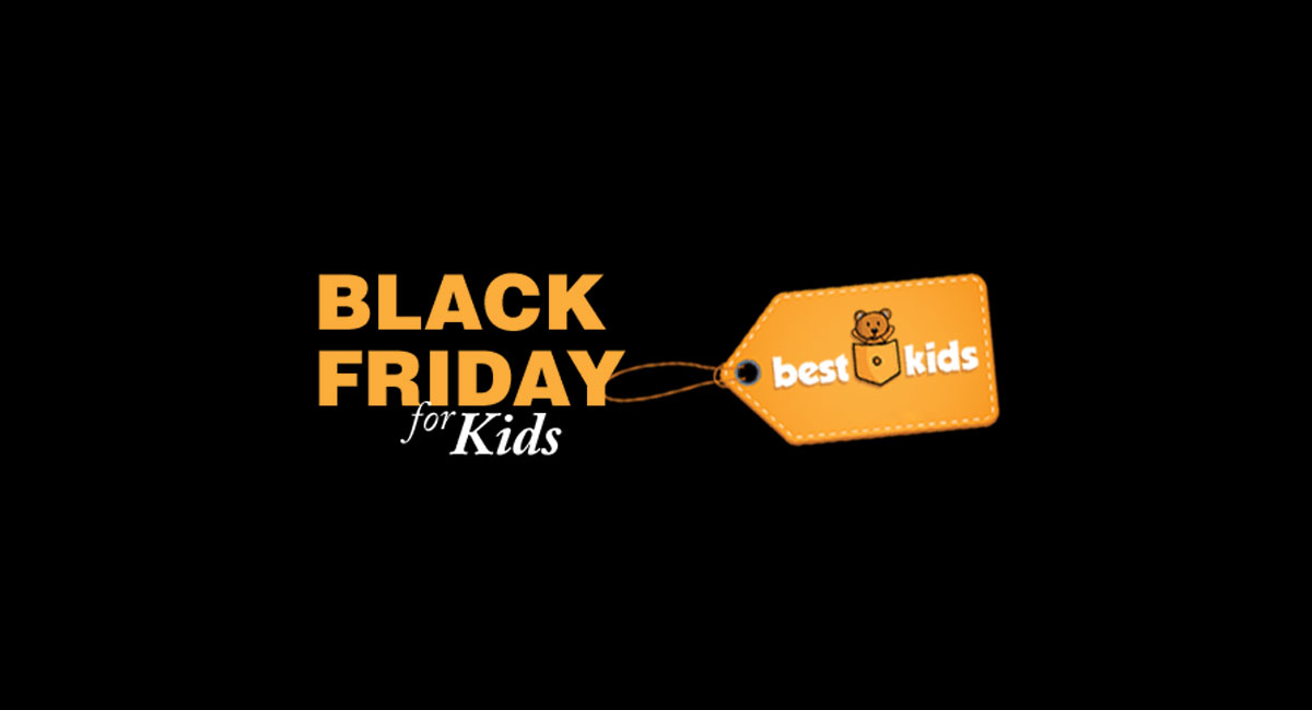 Black Friday pentru jucarii si hainute de copii.