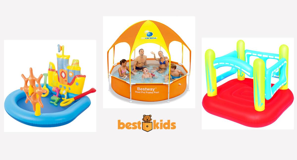 Oferta piscina si jucarii gonflabile pentru copii